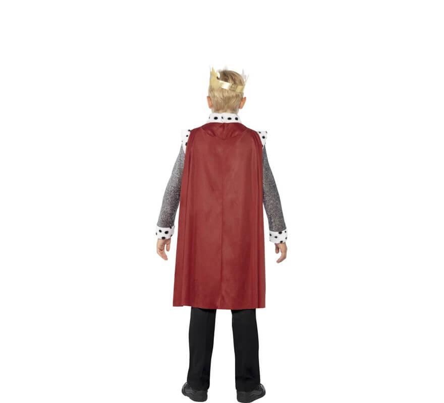 Disfraz de Rey Medieval para niño-B