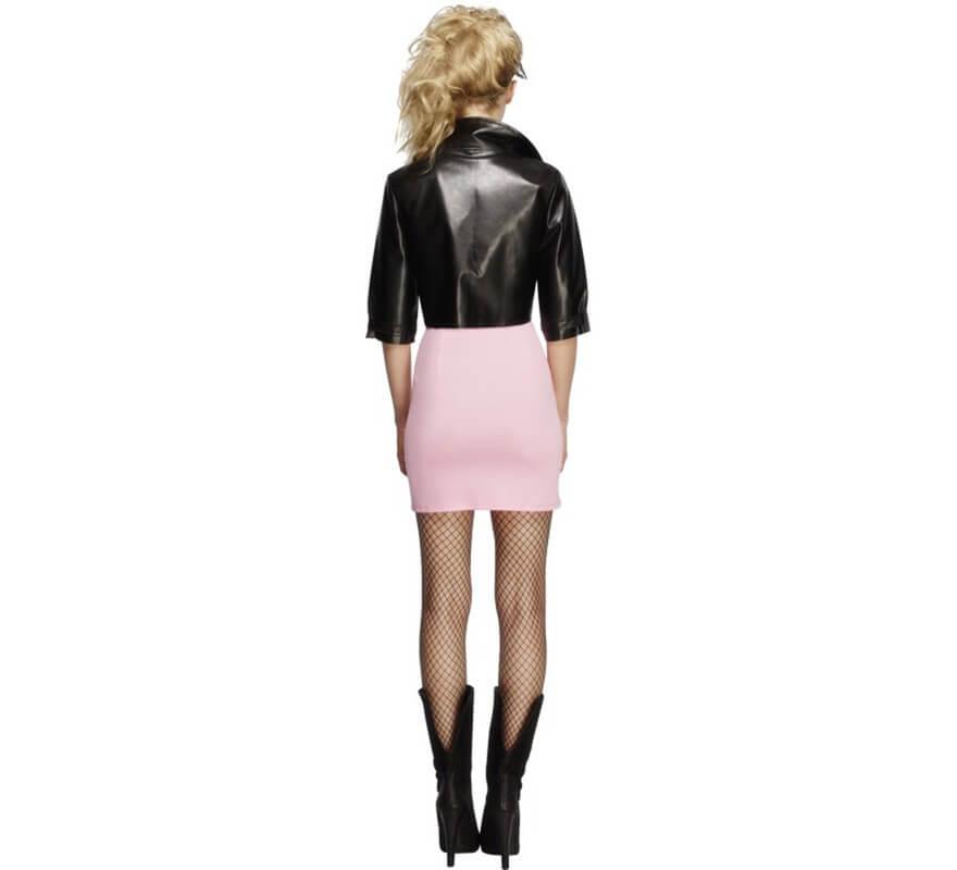 Disfraz de Rockera de Los 80 para mujer-B
