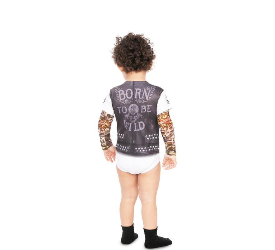 Disfraz de Rockero para bebé-B