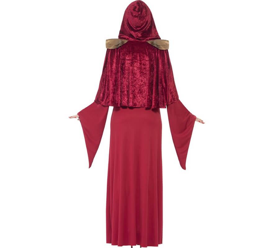Disfraz de Hechicera roja para mujer-B