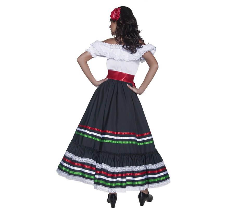 Disfraz de Señorita Mexicana del Oeste para mujer-B
