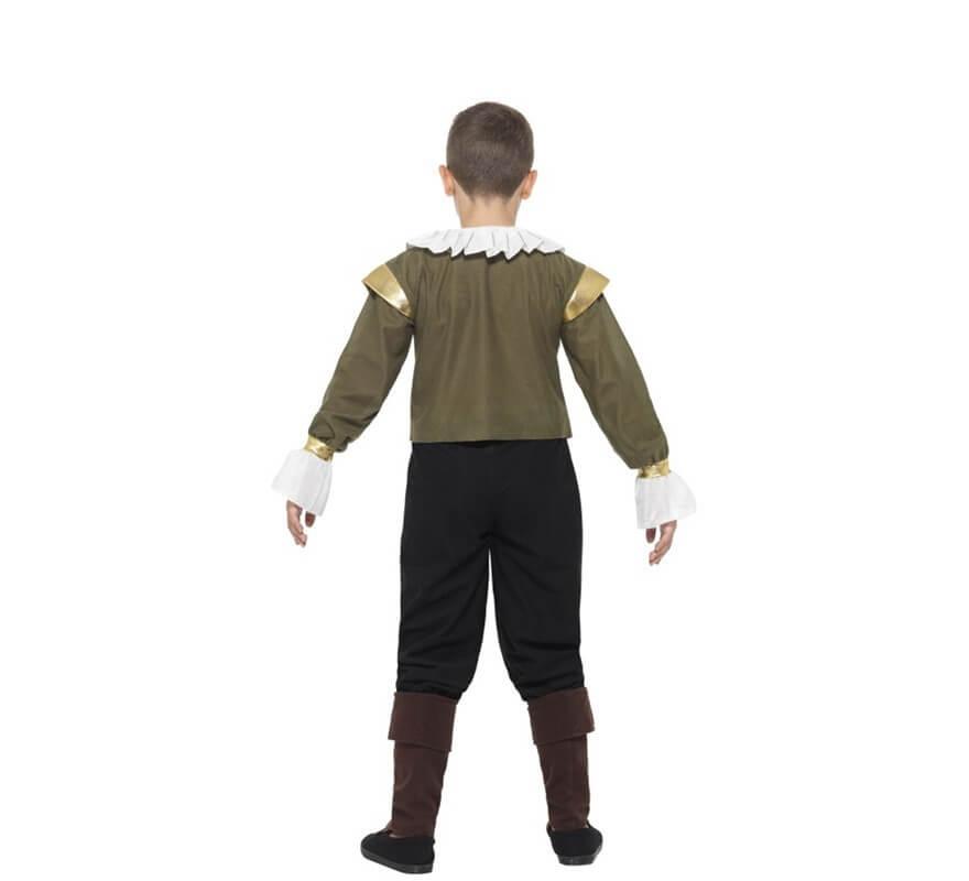 Disfraz de Shakespeare para niño-B