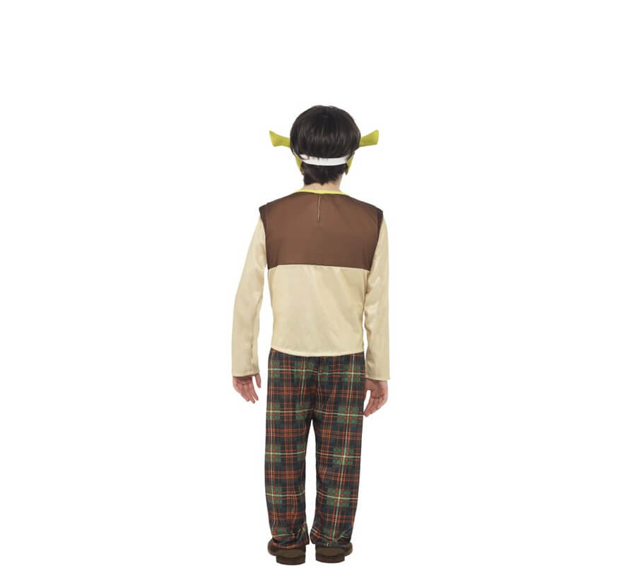 Disfraz de Shrek para niño-B