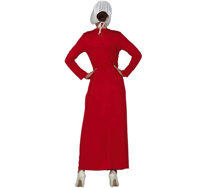 Disfraz de Sirvienta Granate para mujer-B