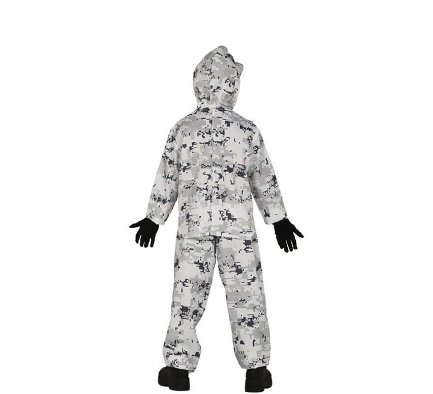 Disfraz de Soldado Ártico para niños-B