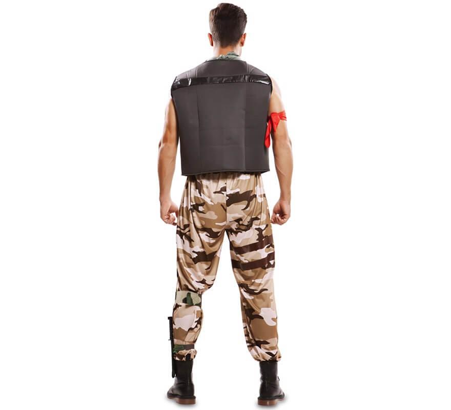 Disfraz de Soldado de Combate para hombre-B