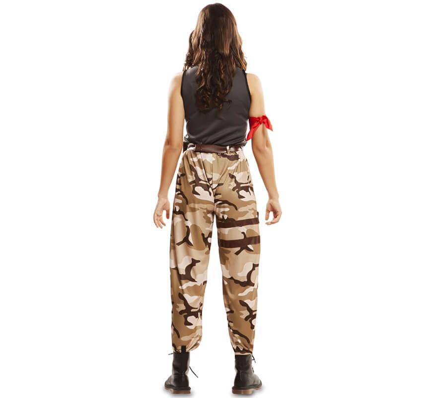 Disfraz de Soldado de Combate para mujer-B