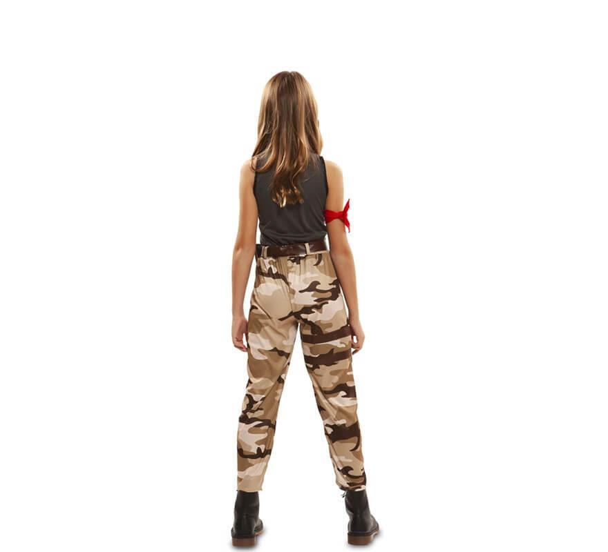 Disfraz de Soldado de Combate para niña-B