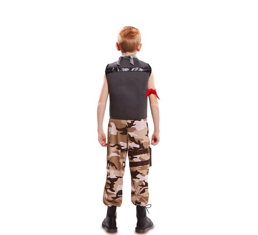 Disfraz de Soldado de Combate para niño-B