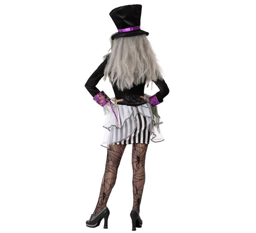 costume sombrerera Loca di Halloween per le donne-B