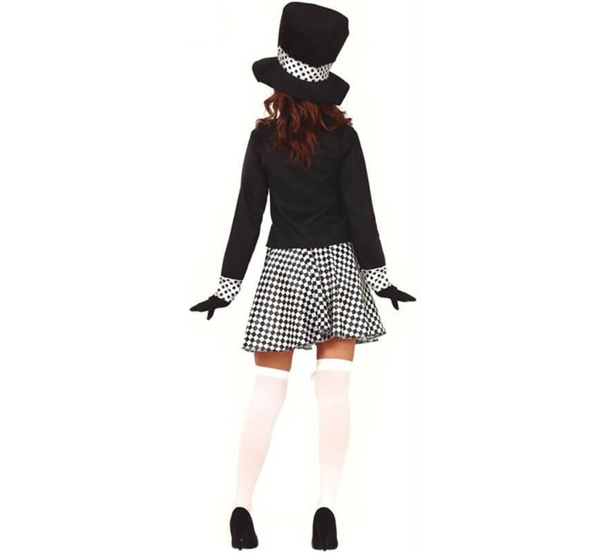 Disfraz de Sombrerera Loca para mujer-B