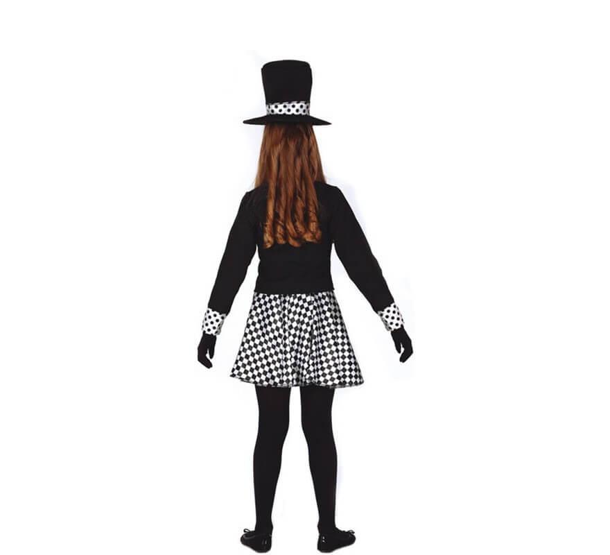 Disfraz de Sombrerera Loca para niña-B