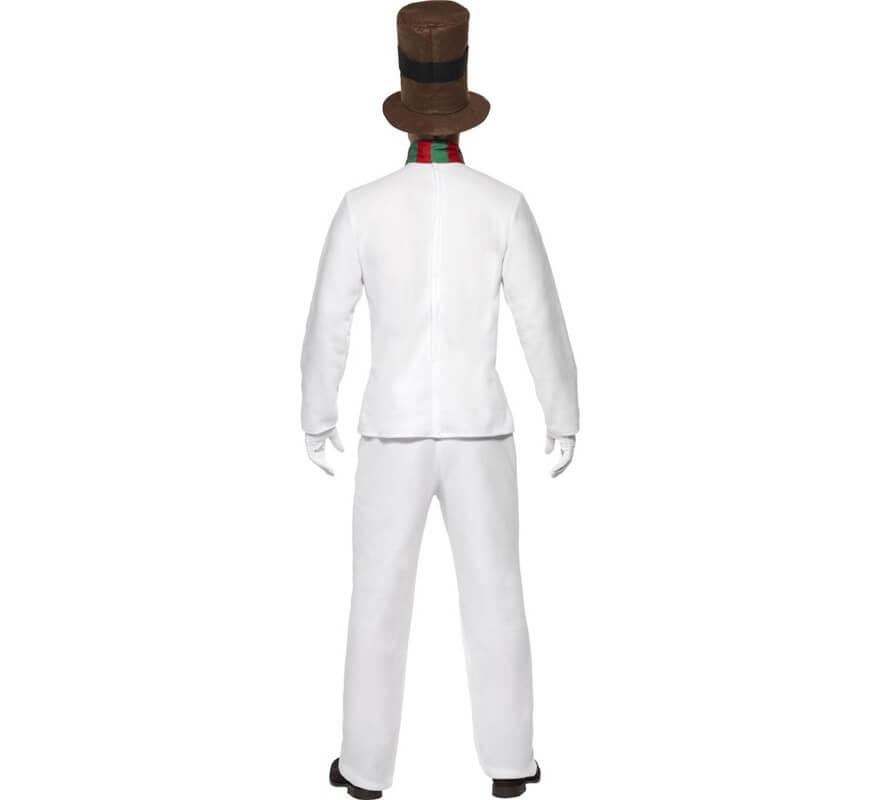 Disfraz de Sr. Muñeco de Nieve para hombres-B