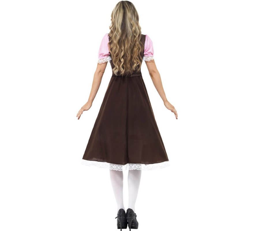 Disfraz de Tabernera Largo Mujer para Oktoberfest-B