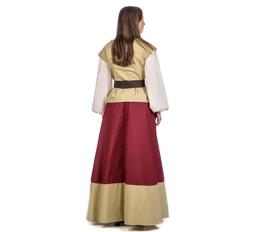 Disfraz de Tabernera Medieval Oria para mujer-B
