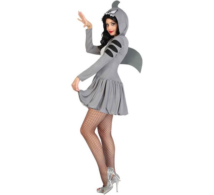 solamente Tranquilidad reserva  Disfraz de Tiburón Sexy para mujer