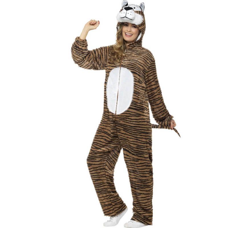 Disfraz de Tigre de Bengala para adulto-B