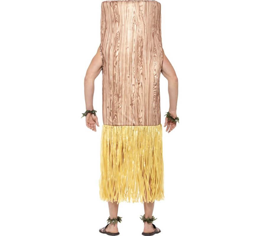 Disfraz de Tótem Tiki Marrón para adultos-B