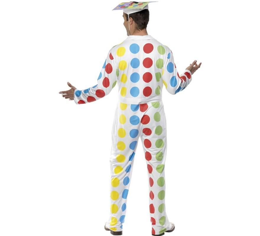 Disfraz de Twister para hombre talla M-B