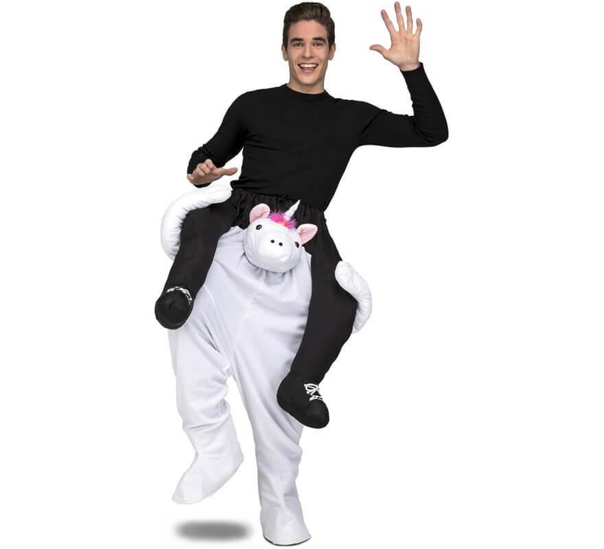 Disfraz de Unicornio a hombros para adultos-B