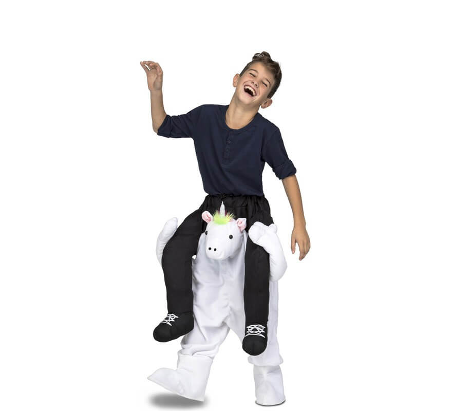 Disfraz de Unicornio a hombros para niños-B