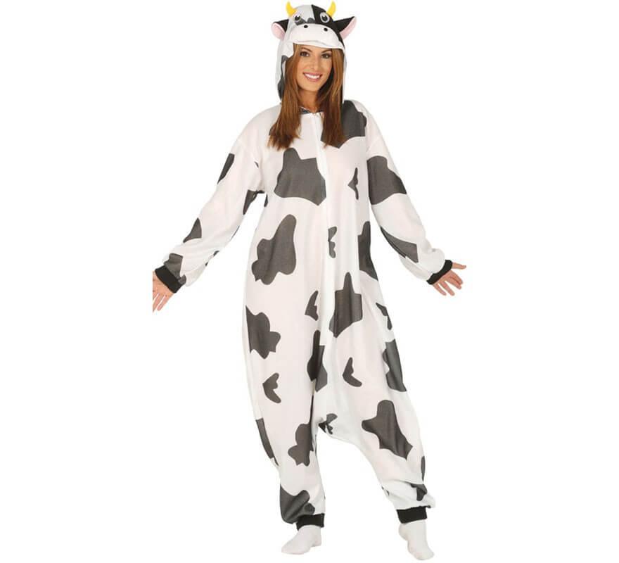 Disfraz de Vaca ancho para adultos-B