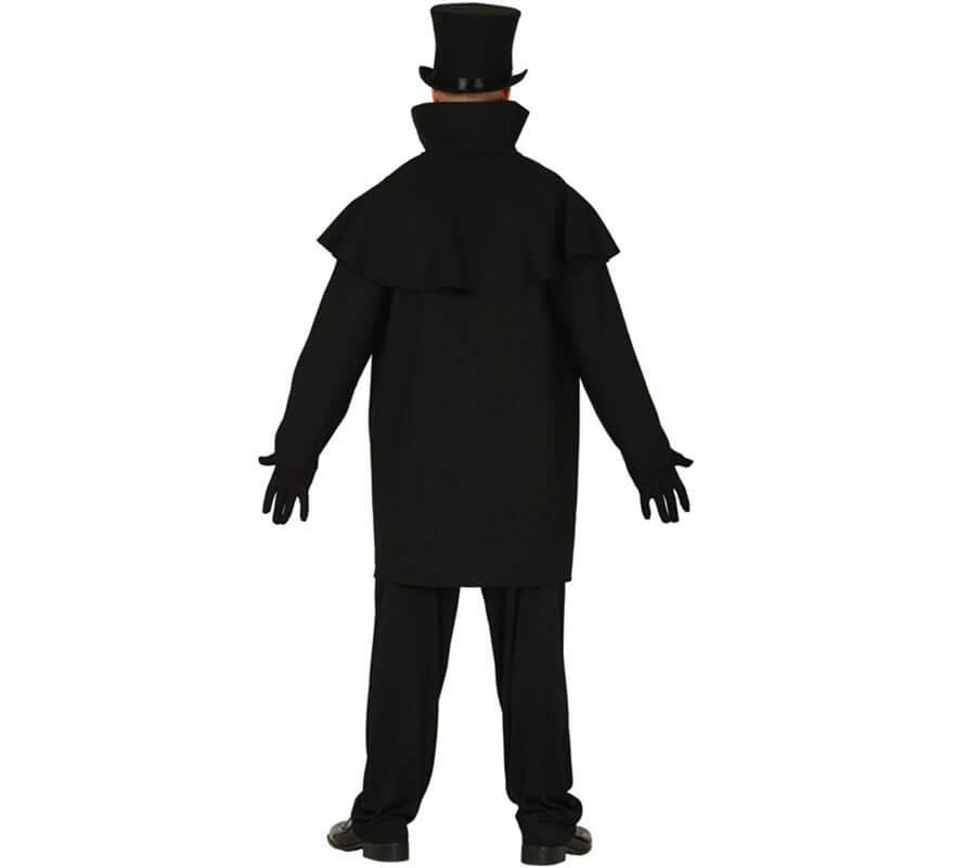 Disfraz de Vampiro Negro para hombre-B