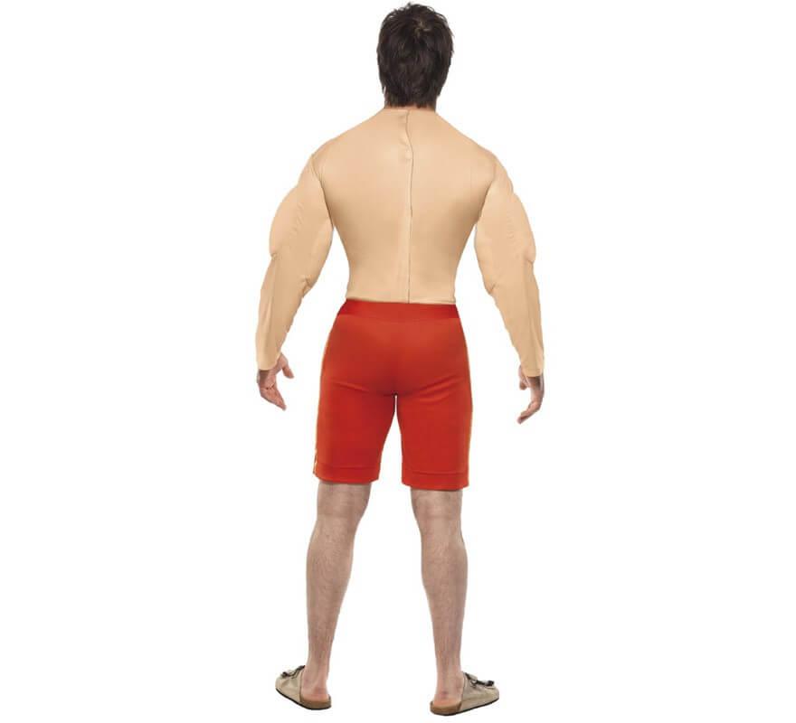 Disfraz de Vigilante de la Playa musculoso de hombre-B