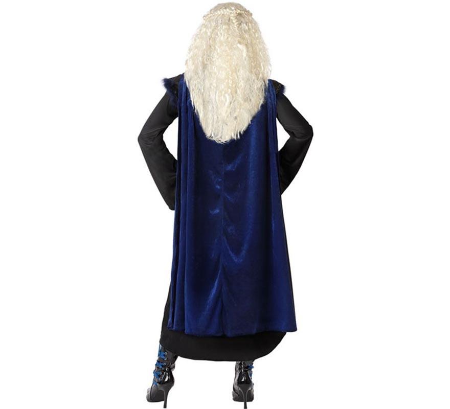 Disfraz de Vikinga Negro para mujer-B