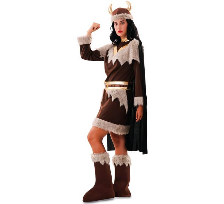 Disfraz de Vikinga para Mujer-B