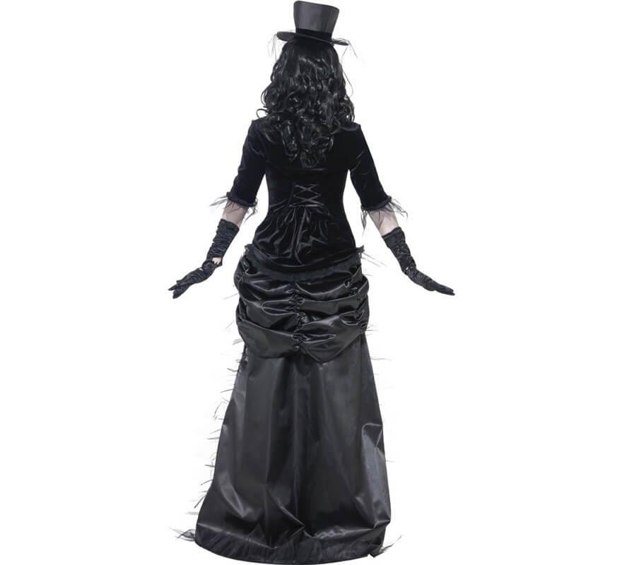 Disfraz de Viuda Negra Fantasma del Oeste para Mujer-B