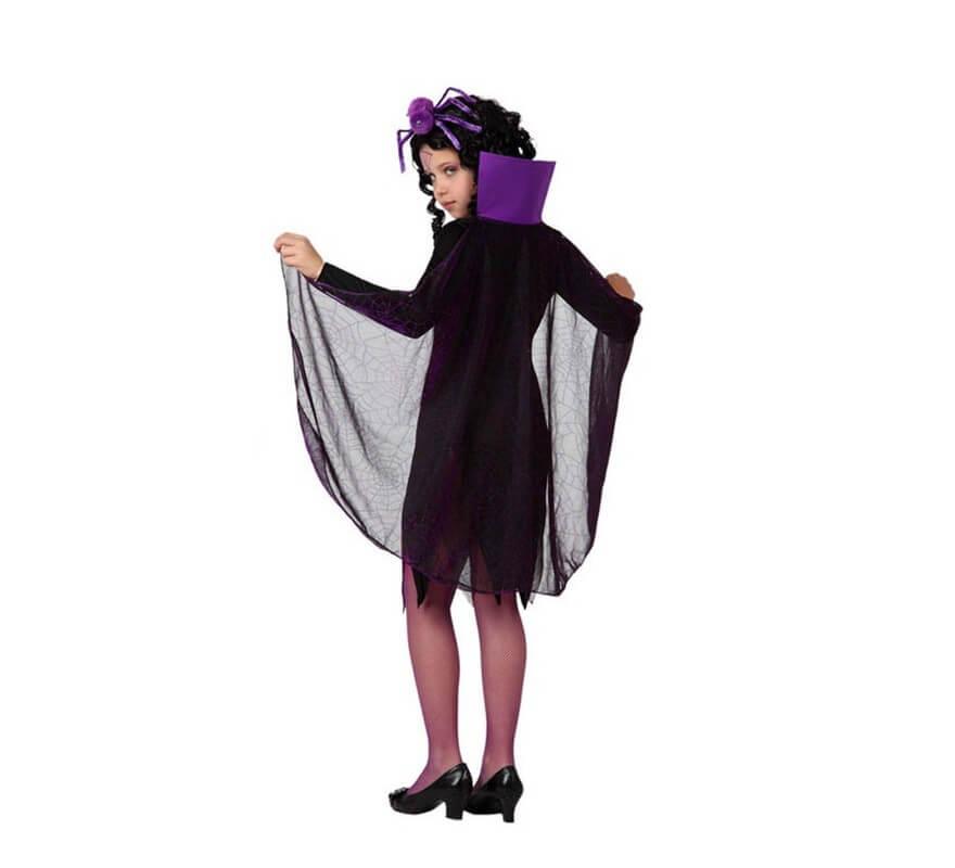 Costume da Vedova nera per bambine-B