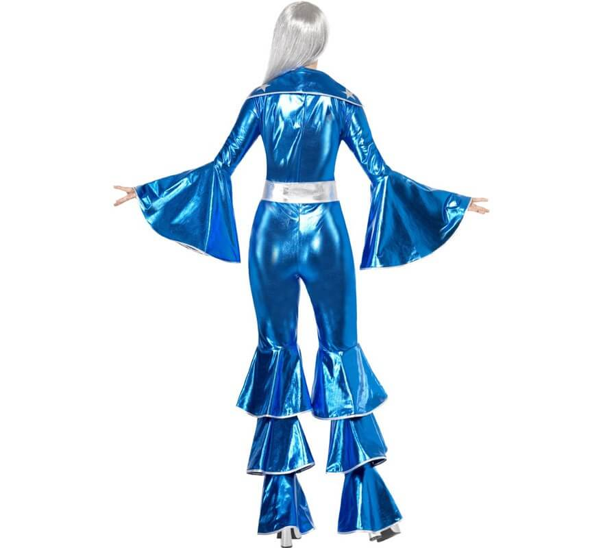 Disfraz Disco Dancing Dream Azul para Mujer-B