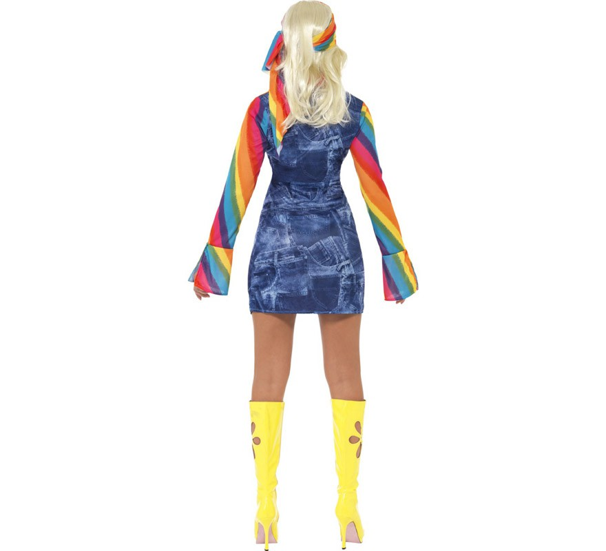 D guisement disco f te ann es 70 pour femme plusieurs tailles - Deguisement femme annee 70 ...