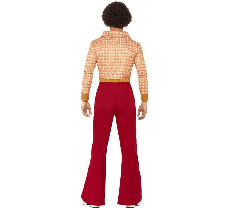 Disfraz Disco Vintage de los 70 para hombre-B