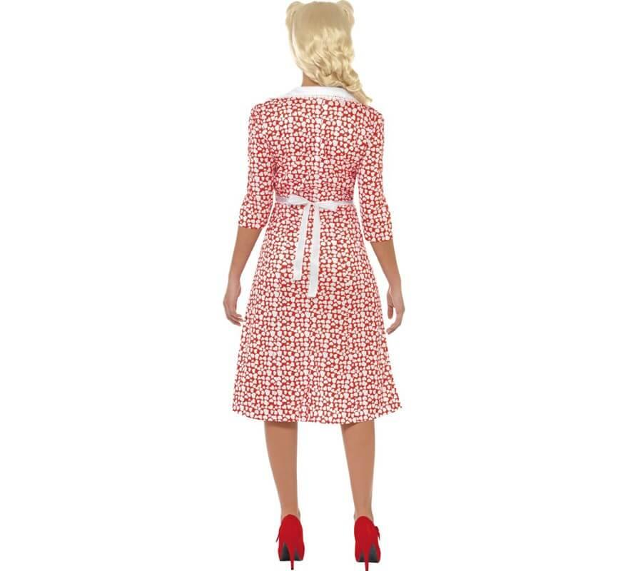 Disfraz Encanto de los Años 40 para Mujer-B