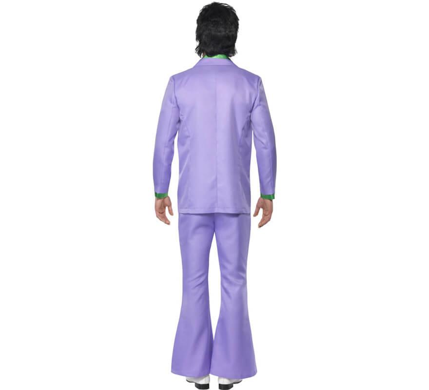 Disfraz Fiebre de los años 70 Lavanda para Hombre-B