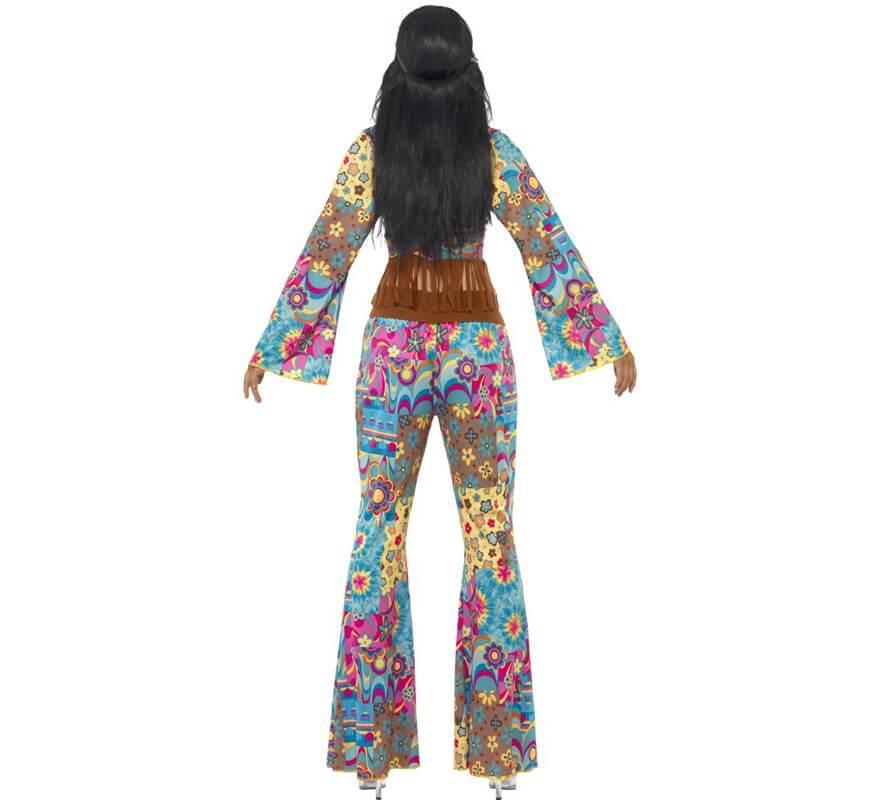 Disfraz Hippy Flower Power para Mujer-B