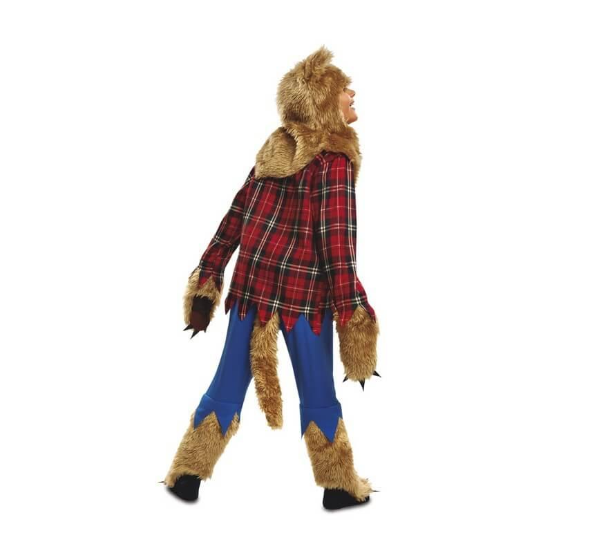 disfraz hombre lobo para nio para halloweenb