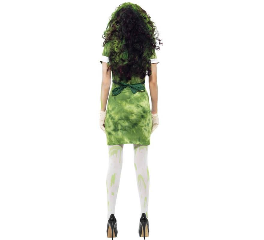 Disfraz Infectada por Agente Biológico para Mujer-B