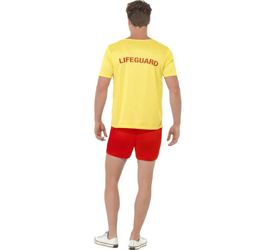 Disfraz Los Vigilantes de la Playa Amarillo Hombre-B