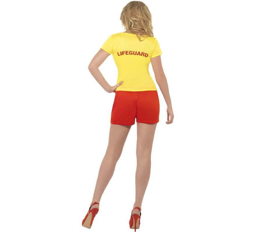 Disfraz Los Vigilantes de la Playa Amarillo Mujer-B
