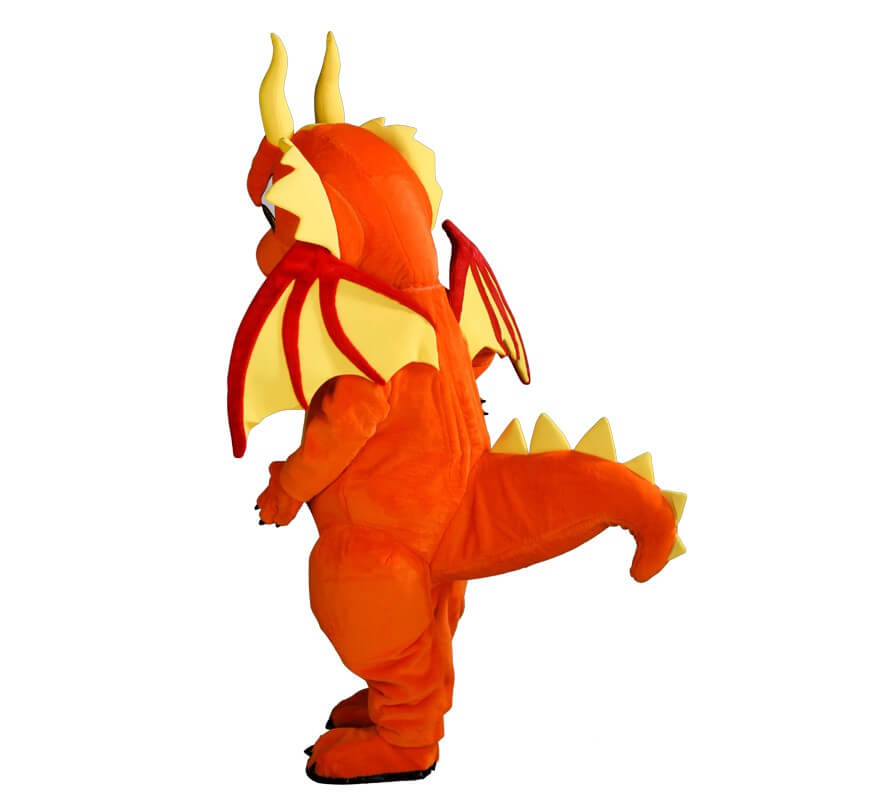 Disfraz Mascota Dragón para adultos-B