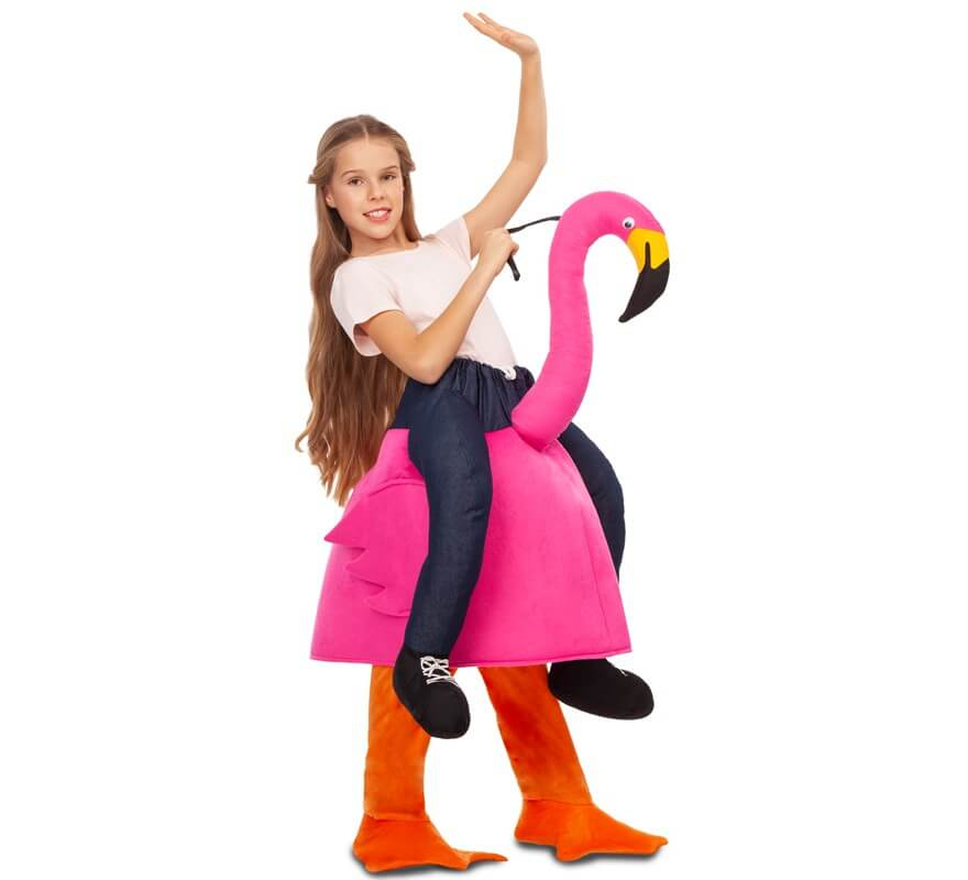 Disfraz montando a Flamenco para niños-B
