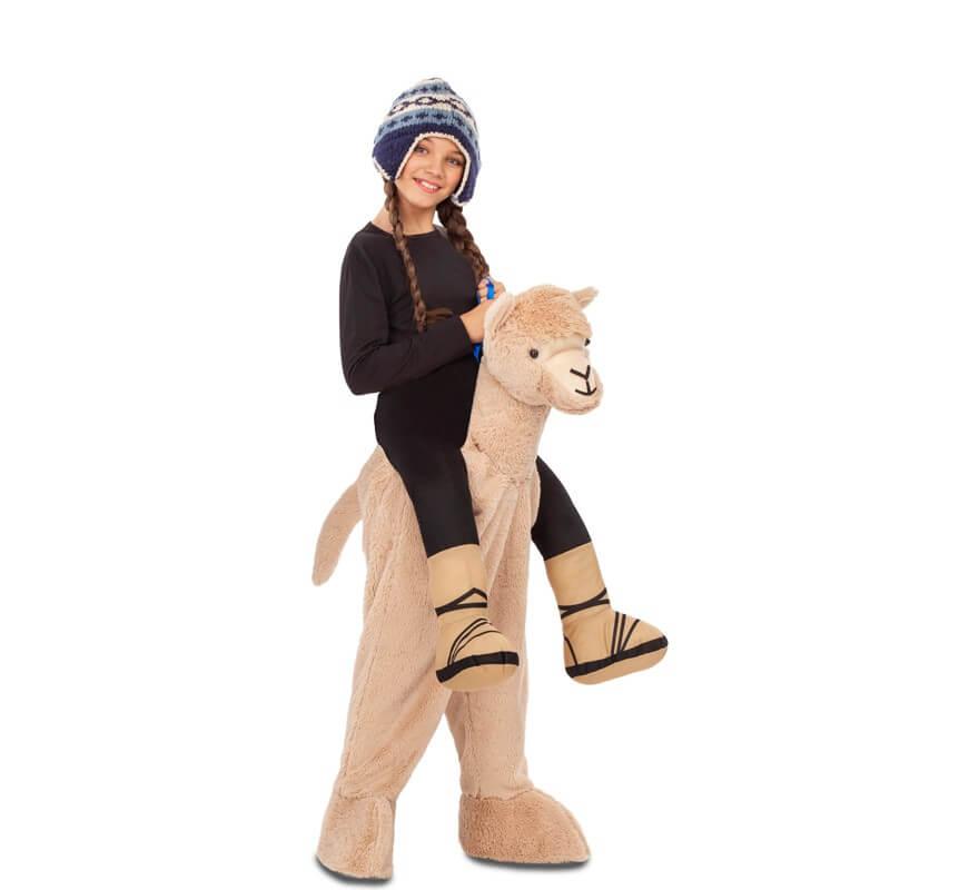 Disfraz montando a Llama para niños-B