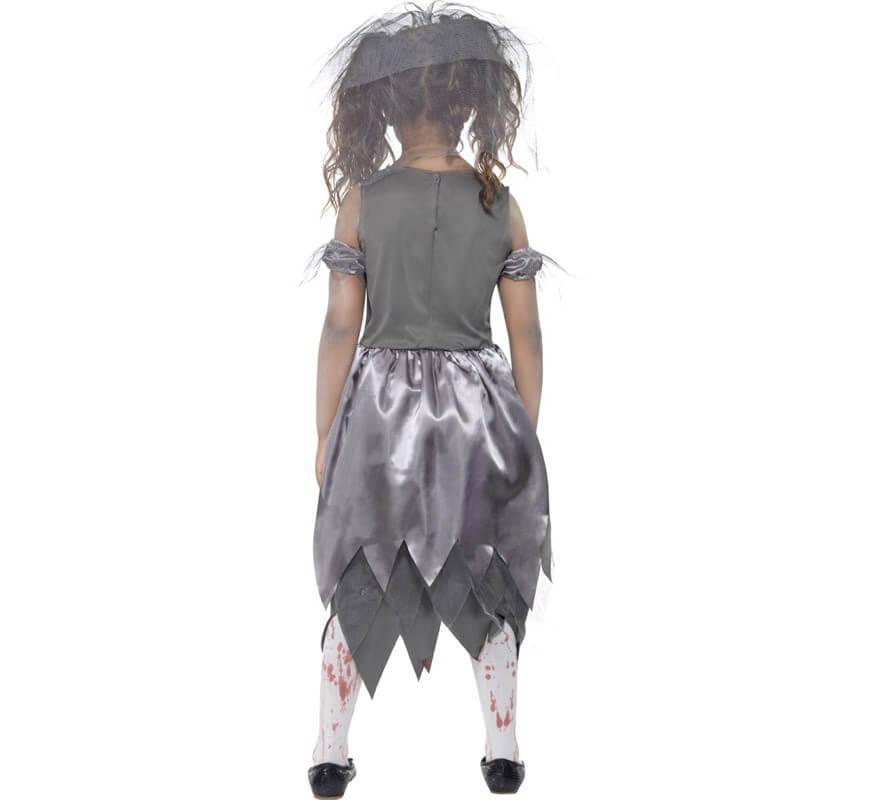Disfraz Novia Zombie para Niña-B