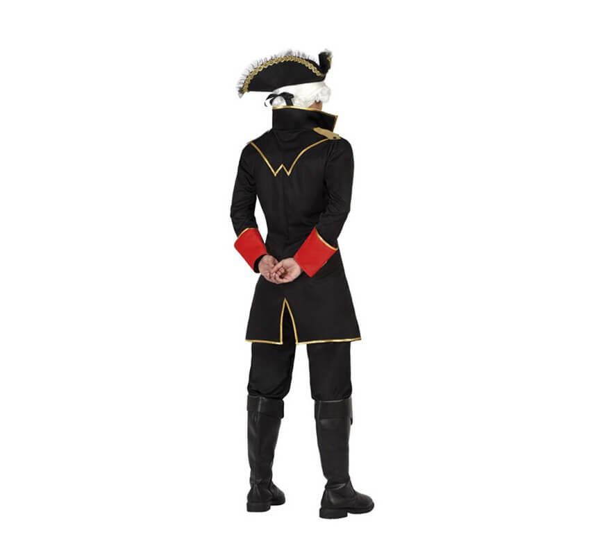 Disfraz o Chaqueta de Capitán Pirata para hombre-B