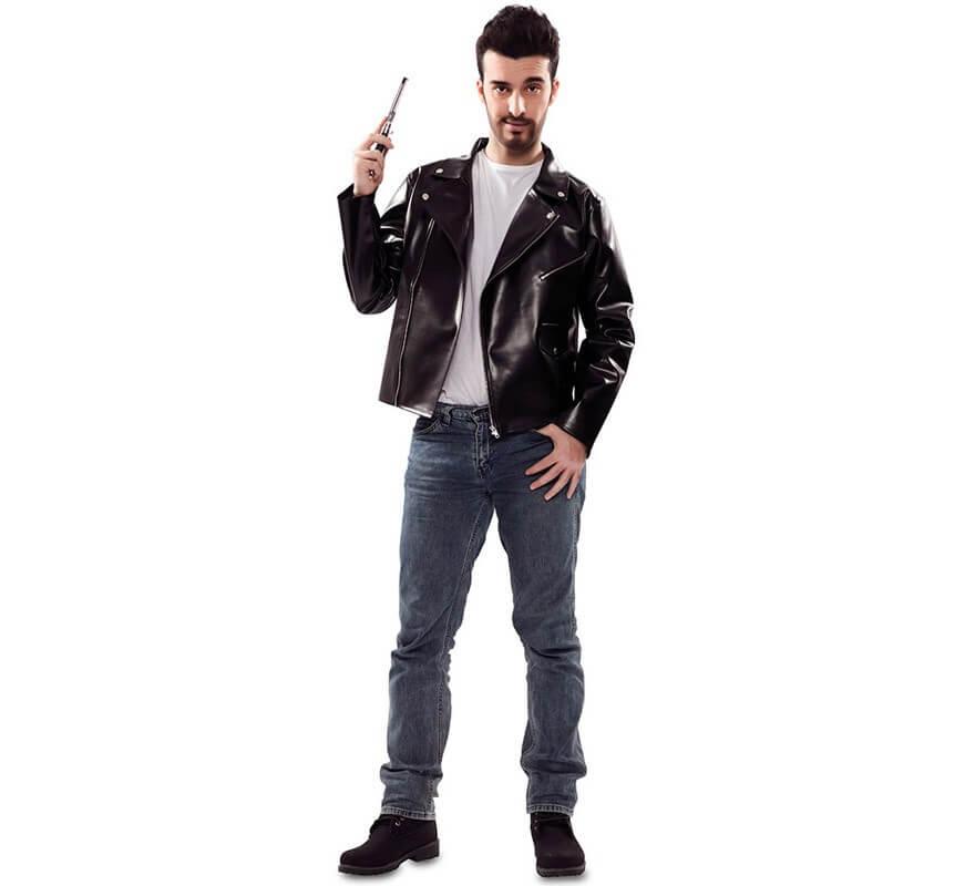 Disfraz o Chaqueta de Rockero para hombre-B