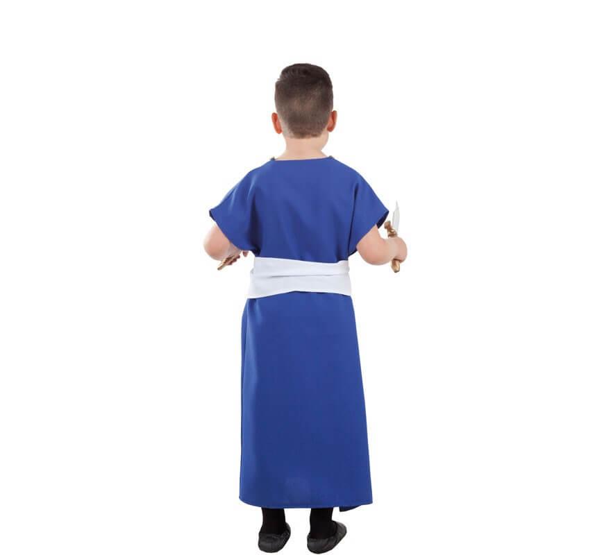 Disfraz o Túnica de Berebere Azul para niño-B