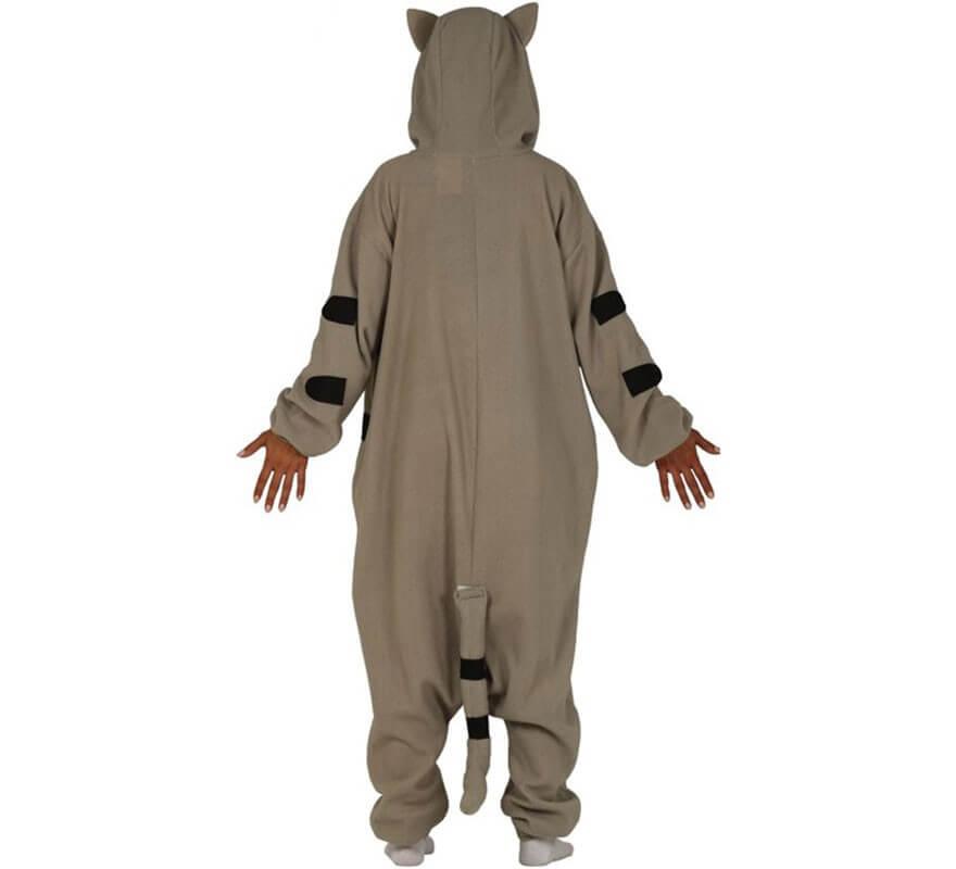 Disfraz Pijama de Gato Gris para adultos-B